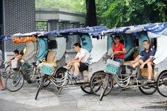 Pedicab Taxi Driver Royalty Free Stock Photo