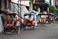 Pedicab tour Royalty Free Stock Images