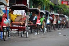 Pedicab tour Royalty Free Stock Photography