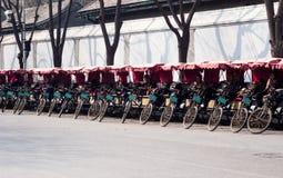 Pedicabs в Пекине Стоковое Изображение RF