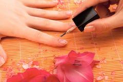 Pedicure ногтя Стоковое Изображение RF