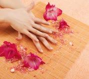 Pedicure ногтя Стоковое фото RF