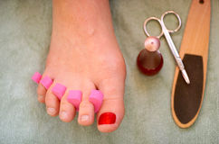 Pedicure Images stock