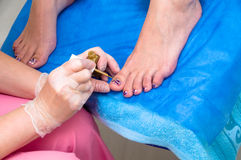Pedicure Stock Foto