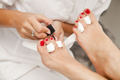 Pedicure Royalty Free Stock Images