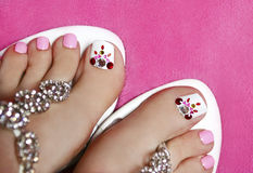 Pedicure. Royalty Free Stock Photography