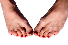 pedicure Fotografia Royalty Free