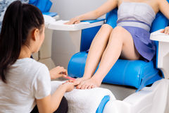 pedicure Foto de Stock Royalty Free