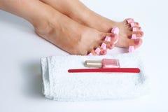 pedicure ноги стоковые изображения rf