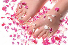 Pedicure Stockfotos