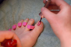 Pedicure Fotografie Stock
