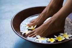 Free Pedicure At Luxury Spa Royalty Free Stock Image - 120991376