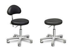 Pedicure chair. Beautician pedicure chair isolatedon white vector illustration