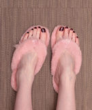 Pedicure feet Stock Photo