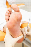 Pedicure foot Royalty Free Stock Photo