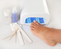 Pedicure foot Royalty Free Stock Photography