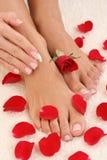 pedicure manicure Obraz Stock