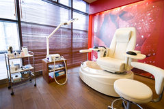 Pedicure room Royalty Free Stock Photography