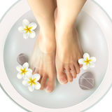 Pedicure Spa Illustration Royalty Free Stock Photos