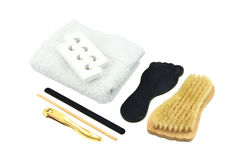 Pedicure tools Royalty Free Stock Photography
