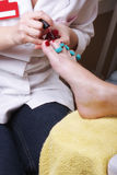 Pedicurist Royalty Free Stock Image