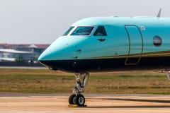 Pedido do avião de TMJ para o táxi Imagens de Stock