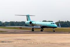Pedido do avião de TMJ para o táxi Fotos de Stock