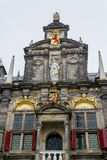Pediment of Delft Town Hall Royalty Free Stock Photography