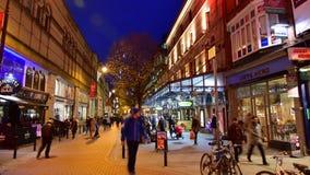 Pedistriansstraat van Dublin Royalty-vrije Stock Fotografie