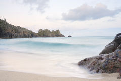 Pedn vounder beach, Cornwall. Royalty Free Stock Photography