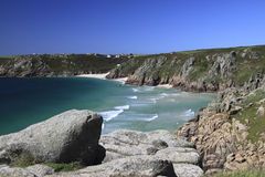 Pednevounder Beach, Cornwall Stock Image