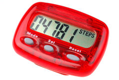 Pedometer Royalty Free Stock Photos