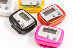 Pedometer Royalty Free Stock Images