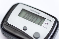 Pedometer Royalty Free Stock Photography