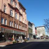 Pedoni a Wilmington del centro, Carolina During Lunch Hour del nord Fotografia Stock
