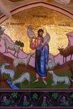 PEDOULAS, CYPRUS/GREECE - 21 JUILLET : Monastère de Kykkos près de Pedoul Image stock