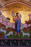 PEDOULAS, CYPRUS/GREECE - LIPIEC 21: Kykkos monaster blisko Pedoul obraz stock