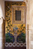 PEDOULAS, CYPRUS/GREECE - LIPIEC 21: Kykkos monaster blisko Pedoul zdjęcia stock