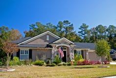 A pedra acentua a HOME nova 2 Fotografia de Stock Royalty Free