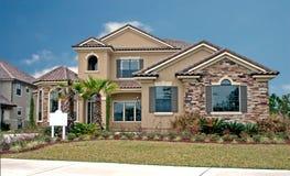 A pedra acentua a HOME nova 9 Fotos de Stock Royalty Free