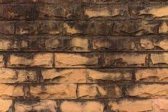 Pedra alaranjada velha Foto de Stock Royalty Free