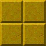 Pedra amarela ilustração do vetor