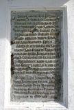 Pedra antiga Imagens de Stock Royalty Free