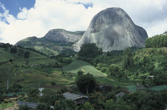 The Pedra Azul (Blue Stone) in the state of Espirito Santo, Braz Stock Images