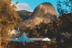 Pedra azul. In Domingos Martins Espirito Santo Royalty Free Stock Images