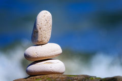 Pedra branca imagens de stock royalty free