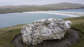 Pedra branca Fotografia de Stock