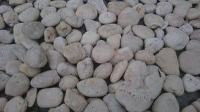 Pedra branca Foto de Stock