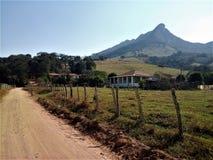 Pedra Branca em Cristina, Minas Gerais imagem de stock