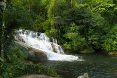 Pedra Branca (White Stone) Waterfall stock photo